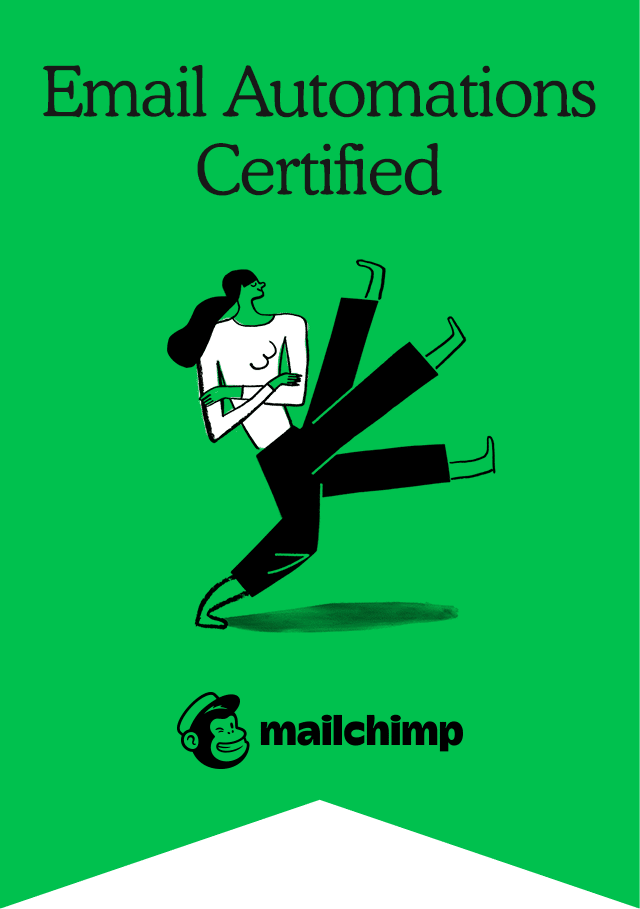 Mailchimp Academy Email Automations Certification Badge